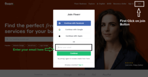 How to create Fiverr Account 2