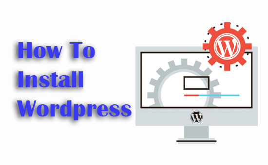how to install wordpress on liver server