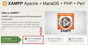 xampp download link